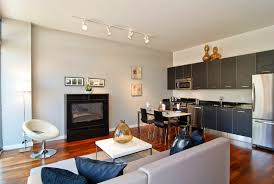 Images Of Small Open Concept Kitchen And Living Room