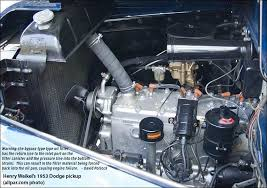 Mopar Engine Color Chart Flat Head Engines Plymouth Dodge Desoto Chrysler Six And Eight