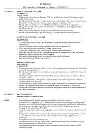 Engineer Manager Resume Samples Velvet Jobs