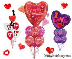 valentines day balloon bouquet