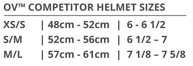 Ovation Helmet Size Chart Ovation Competitor Helmet Ovation Riding