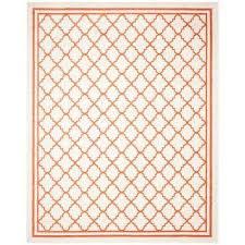 amherst beige orange 8 ft x 10 ft indoor outdoor area rug