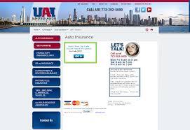 united auto insurance quote step 3