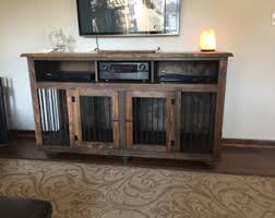 table kennel. entertainment center / pet kennel table r