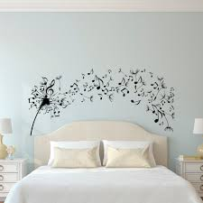 dandelion wall decal bedroom music note wall decal dandelion