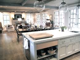 open kitchen living room floor plan. This Is The Open Floor Plane I Dream Of. Love That All 3 Places Flow Together, Making A Perfect Home To Entertain In. Kitchen Living Room Plan V