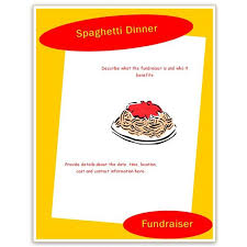 benefit flyer templates 24 images of spaghetti dinner benefit flyer template leseriail com