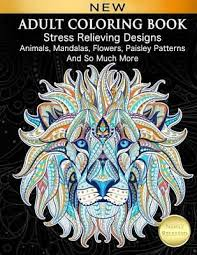 coloring book stress relieving designs by cindy elsharouni paperback new