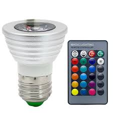 cheap mood lighting. E26/E27 LED Bulbs,3W RGB Color Changing Spotlight With IR Remote Control Mood Cheap Lighting G