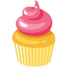 Cute Birthday Cupcake Clip Art Free Clipart Images 2 Clipartix