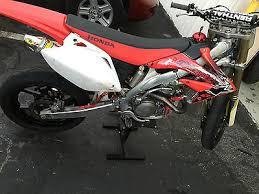 crf 450 super motard motorcycles for sale