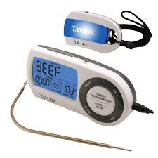 taylor wireless digital thermometer with timer