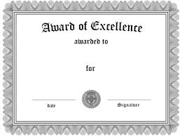 Award Of Excellence Certificate Template Award Of Excellence Certificate Template My Future Template 15