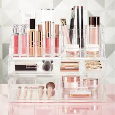 Luxe Acrylic Makeup Storage Kit ...