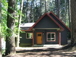 Mountain Cabin Exterior Color Design - Twain Harte, CA traditional-exterior