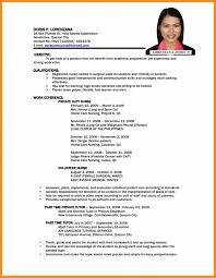 Teaching Jobs Resume Sample 10 For Teacher Job Format Freshers P