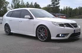 Svss Saab Bbs White Sc Saab 9 3 Aero Saab Automobile Saab 9 3