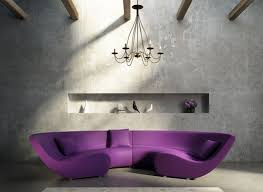 Purple Living Room Furniture Purple Sofa In The Living Room Download 3d House