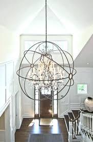 entry way chandelier foyer chandelier entryway chandelier size
