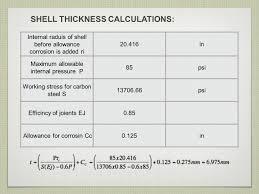 Thermal Oxidizer Design Calculations Heat Exchanger Design Heat Exchanger Design Calculations Ppt