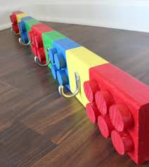 Cute Coat Racks DIY Lego Coat Rack Erin Spain 39
