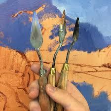diffe palette knifes
