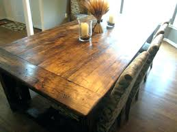 rustic dining table diy. Diy Rustic Wood Dining Table Kitchen Beautiful  5 T
