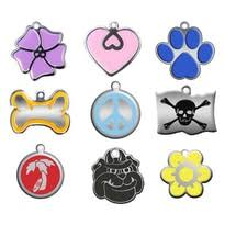 pet tags personalized dog engraved cat puppy id name collar tag paw pendant anti lost accessories