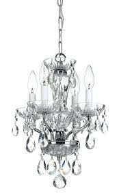 small clear chandelier 4 light chrome crystal mini chandelier dd in clear crystal small clear crystal