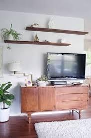 mid century modern floating shelves. Image Result For Mid Century Floating Shelves Au Above Tv Throughout Modern