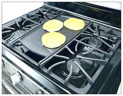gas stove top with griddle. Stove Top Griddle Gas With Grill . I