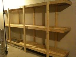 picture of build easy free standing shelving unit for basement or garage