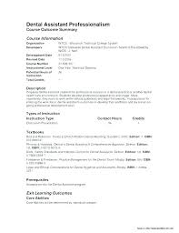 Dental Assisting Resumes Netdoma New Dental Assistant Resume Skills