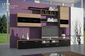 Modular Cabinets Living Room Best Quality Tv Modular Unit Leon Ii 250 Cm Wide