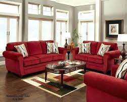 red sofa living room red couch decor