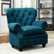 teal blue furniture. Accent Chairs Living Room Dark Teal Fabric Chair Teal Blue Furniture E