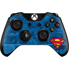 Xbox one console skin high quality vinyl with air escape adhesive printed at high resolutions with wide colour gamut inks over laminated for extra protection and durability uv, fade and touch wear resistant low initial tack until superman xbox one decal for xbox one console and 2 controllers. Superman Logo Xbox One Controller Skin Dc Comics