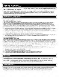 help desk specialist resume