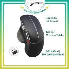 Chuột không dây HXSJ T32 Wireless 2.4 Ghz DPI 3600 không gây mỏi tay,  chuyên dùng cho laptop, pc, tivi - Hàng Chính Hãng tại Hà Nội