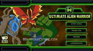 ben 10 ultimate alien warrior