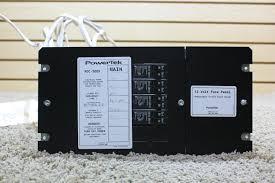 rv accessories used motorhome powertek volt fuse panel pdc  used motorhome powertek 12 volt fuse panel pdc 3009 rv parts for