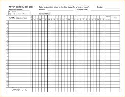 Attendance Form Templates Template Meeting Attendance Register