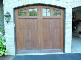 Deciding on Refinishing Wood Garage Doors: The Milky Look or the ...