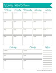 Diabetic Meal Planner Free Meal Planning Worksheet Usda Menu Answers Rotation Pdf For