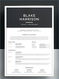 Word Doc Resume Template Resume Example