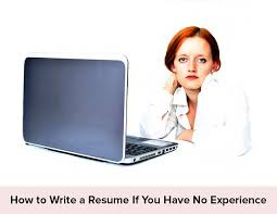 Fresher Resume Guide: How To Write A Resume If You Have No ...