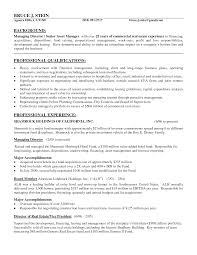 Real Estate Manager Resume 14 18 Investment Fund Samples Commercial