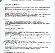 Custodian Resume Samples Stunning Custodian Resume Examples Davidkarlsson