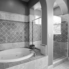 blue bathroom floor tile. Bathroom, Bathroom Flooring Tiles Alcove Bathtub Marble Surrounded Wooden Vanity Storage Large Blue Whirlpool Wall Floor Tile