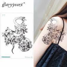 Glaryyears маленькая рука временная татуировка наклейка поддельные